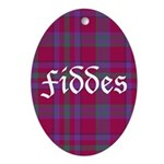 Tartan - Fiddes Ornament (Oval)