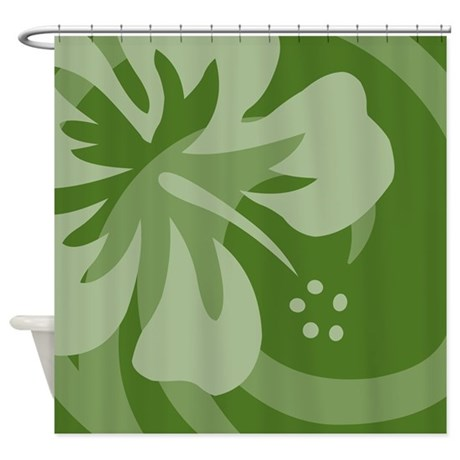 Dark Green Shower Curtain Army Green Shower Curtain