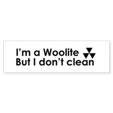 Woolite Bumper Sticker