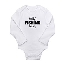 Daddy's Fishing Buddy Long Sleeve Infant Bodysuit