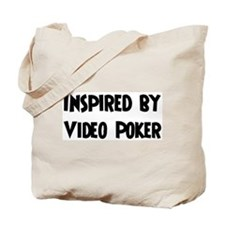 Inspired by Video Poker Tote Bag