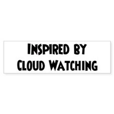 Cloud Watching Lover Bumper Bumper Sticker
