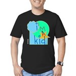 OYOOS i'm a kid design Men's Fitted T-Shirt (dark)