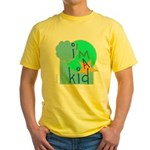 OYOOS i'm a kid design Yellow T-Shirt