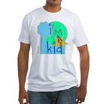 OYOOS i'm a kid design Fitted T-Shirt