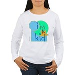 OYOOS i'm a kid design Women's Long Sleeve T-Shirt