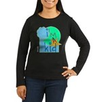 OYOOS i'm a kid design Women's Long Sleeve Dark T-