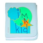 OYOOS i'm a kid design baby blanket