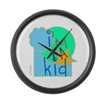OYOOS i'm a kid design Large Wall Clock