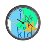 OYOOS i'm a kid design Wall Clock