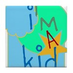 OYOOS i'm a kid design Tile Coaster