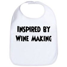 Inspired by Wine Making Bib