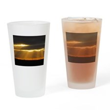 Amarillo Sunset Drinking Glass