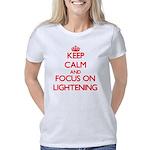 Satyr Organic Women's Fitted T-Shirt (dark)