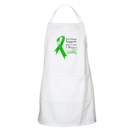 Hope Cure Green Ribbon Apron