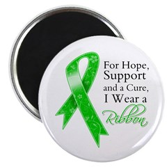 Hope Cure Green Ribbon Magnet