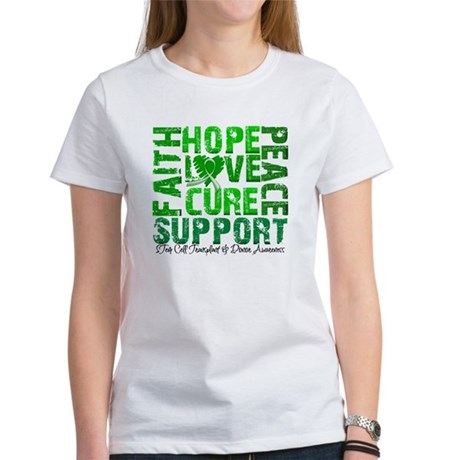 Hope Cure Faith SCT Women's T-Shirt