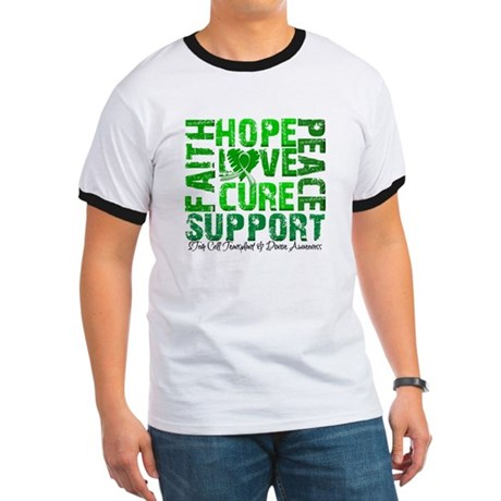 Hope Cure Faith SCT Ringer T
