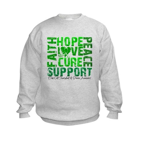 Hope Cure Faith SCT Kids Sweatshirt