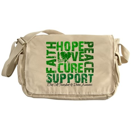 Hope Cure Faith SCT Messenger Bag
