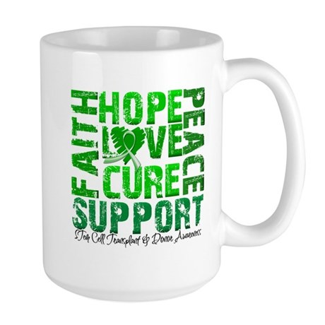 Hope Cure Faith SCT Large Mug
