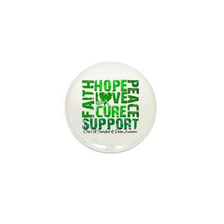 Hope Cure Faith SCT Mini Button (10 pack)