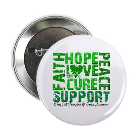 "Hope Cure Faith SCT 2.25"" Button (10 pack)"