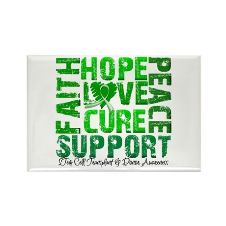 Hope Cure Faith SCT Rectangle Magnet (100 pack)