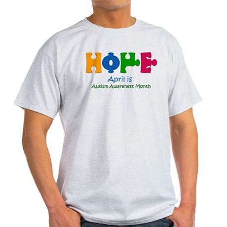 Autism Awareness Light T-Shirt