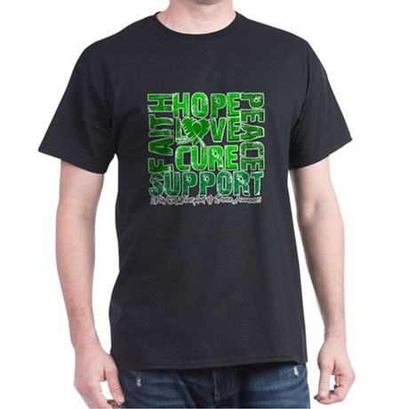 Hope Cure Faith SCT Dark T-Shirt