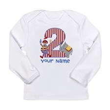 2nd Birthday Circus Long Sleeve Infant T-Shirt