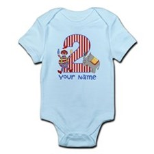 2nd Birthday Circus Infant Bodysuit