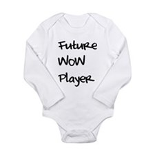 Funny Wow Long Sleeve Infant Bodysuit