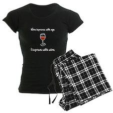 Wine Improves Pajamas