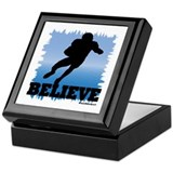 Believe (football) Keepsake Box