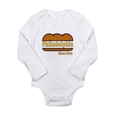 Funny Po boy Long Sleeve Infant Bodysuit