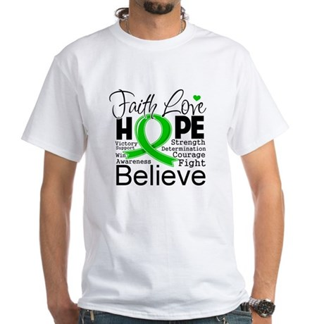 Faith Love Hope BMT SCT White T-Shirt