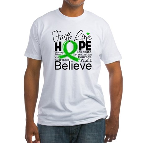 Faith Love Hope BMT SCT Fitted T-Shirt