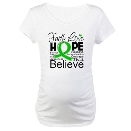 Faith Love Hope BMT SCT Maternity T-Shirt