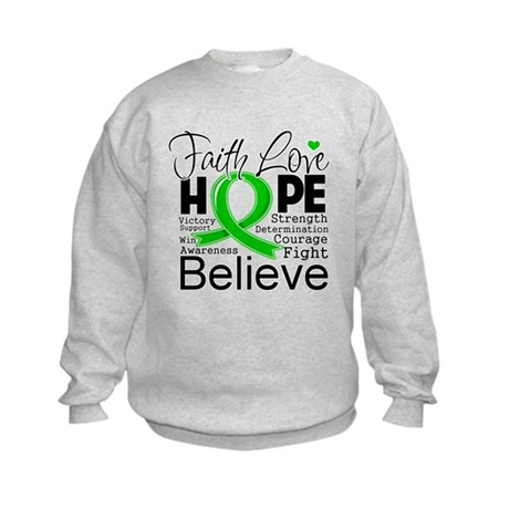 Faith Love Hope BMT SCT Kids Sweatshirt