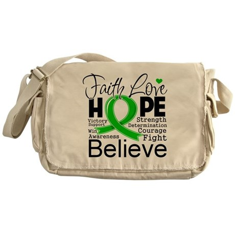 Faith Love Hope BMT SCT Messenger Bag