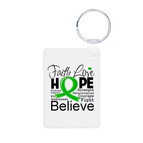 Faith Love Hope BMT SCT Aluminum Photo Keychain