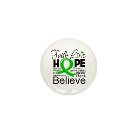 Faith Love Hope BMT SCT Mini Button