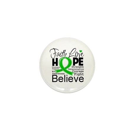 Faith Love Hope BMT SCT Mini Button (100 pack)