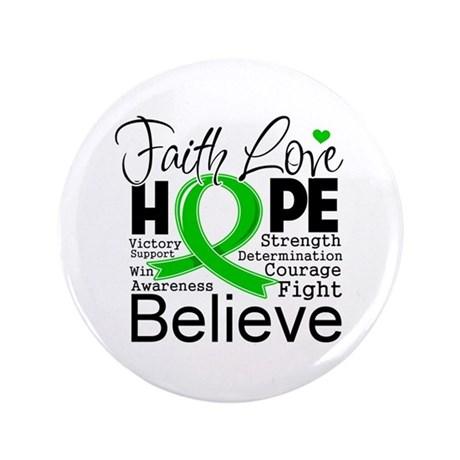 "Faith Love Hope BMT SCT 3.5"" Button"