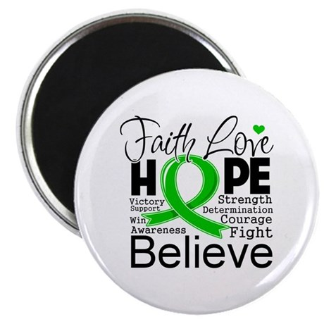 "Faith Love Hope BMT SCT 2.25"" Magnet (100 pack)"