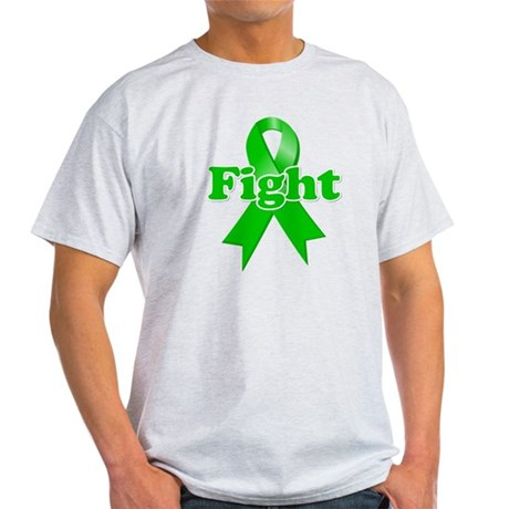 Green Ribbon FIGHT Light T-Shirt