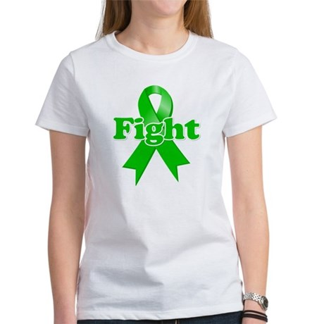 Green Ribbon FIGHT Women's T-Shirt