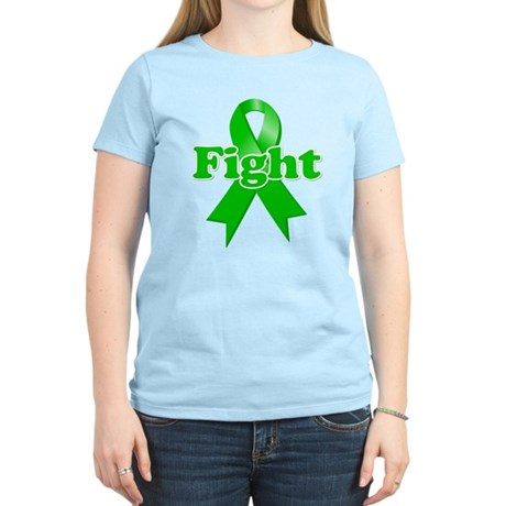 Green Ribbon FIGHT Women's Light T-Shirt