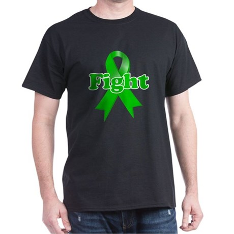 Green Ribbon FIGHT Dark T-Shirt